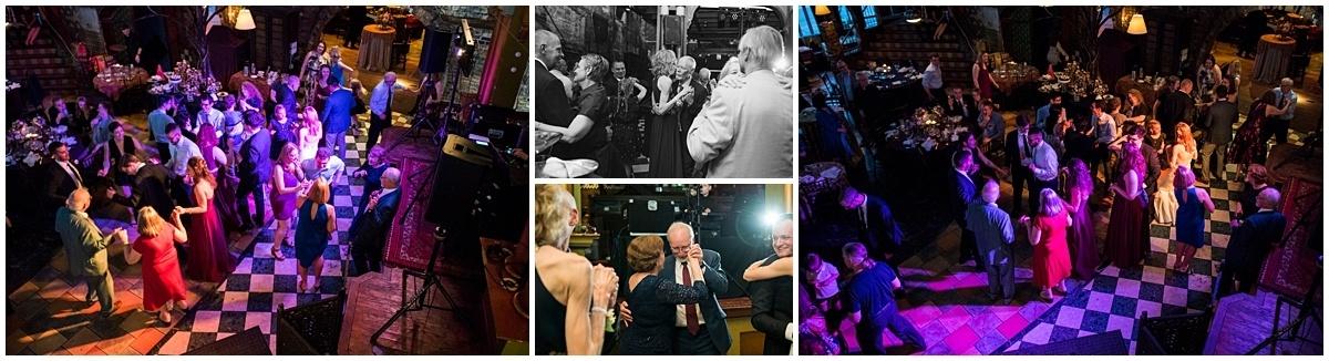 Loring Restaurant Wedding guests dancing