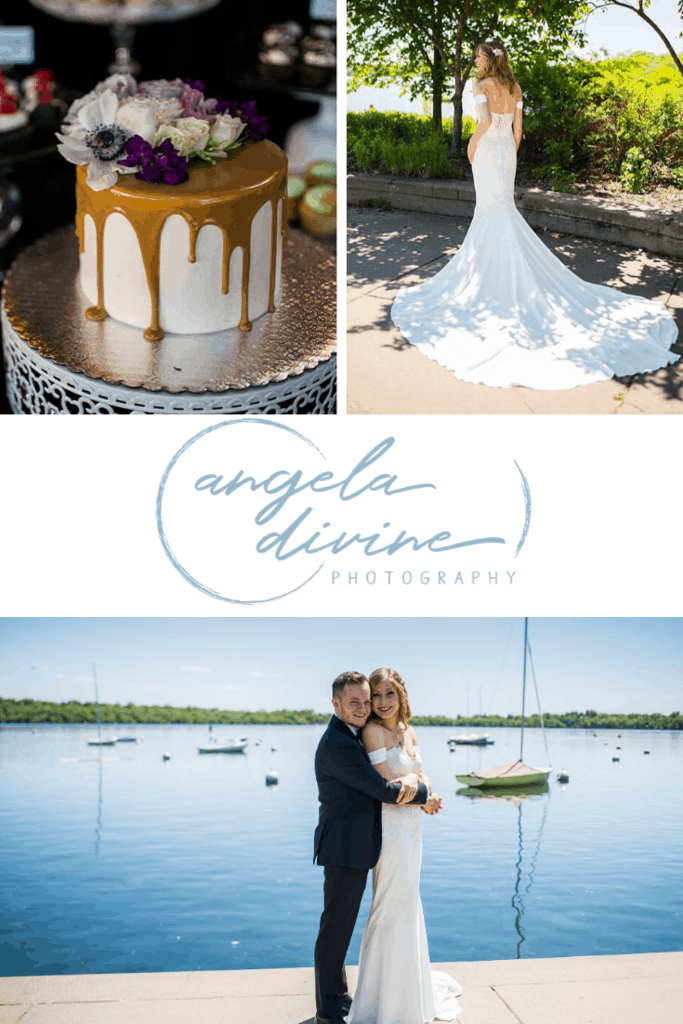 These photos are from a spring wedding and reception at Loring Restaurant in Dinkytown, MN. Visit my blog for more photos from this beautiful wedding ceremony and reception. | Angela Divine Photography | Minneapolis wedding + brand photographer | #wedding #springwedding #loringrestaurant #lakeharriet | https://angeladivinephotography.com/loring-restaurant-wedding-lea-kevin
