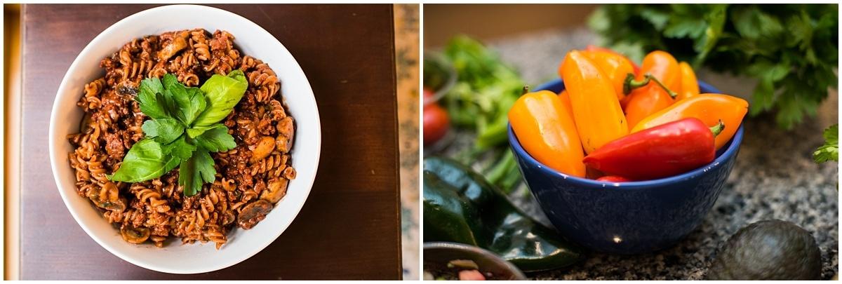 Organic Food Brand Photography healthy food