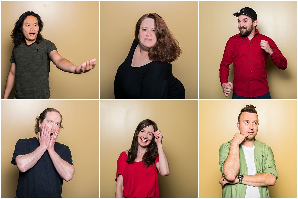 Small Business Branding Photography instructors being silly