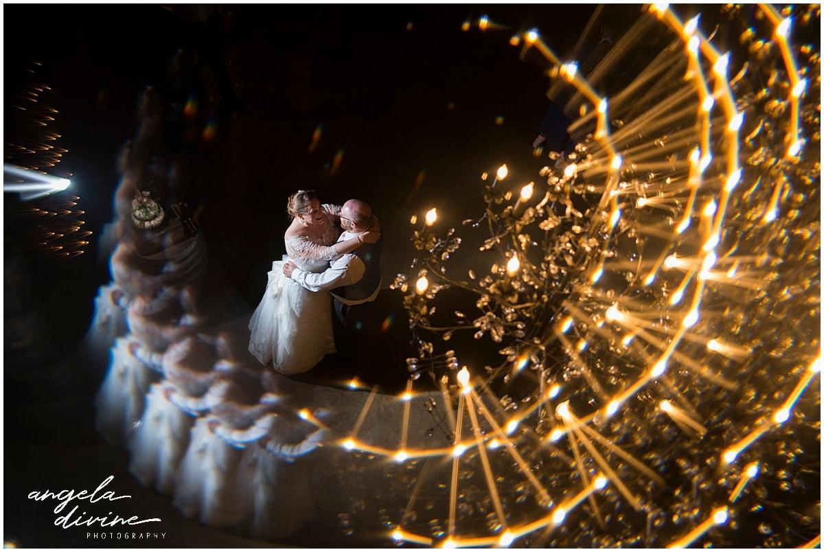 Creekside Farm Wedding magical dance floor