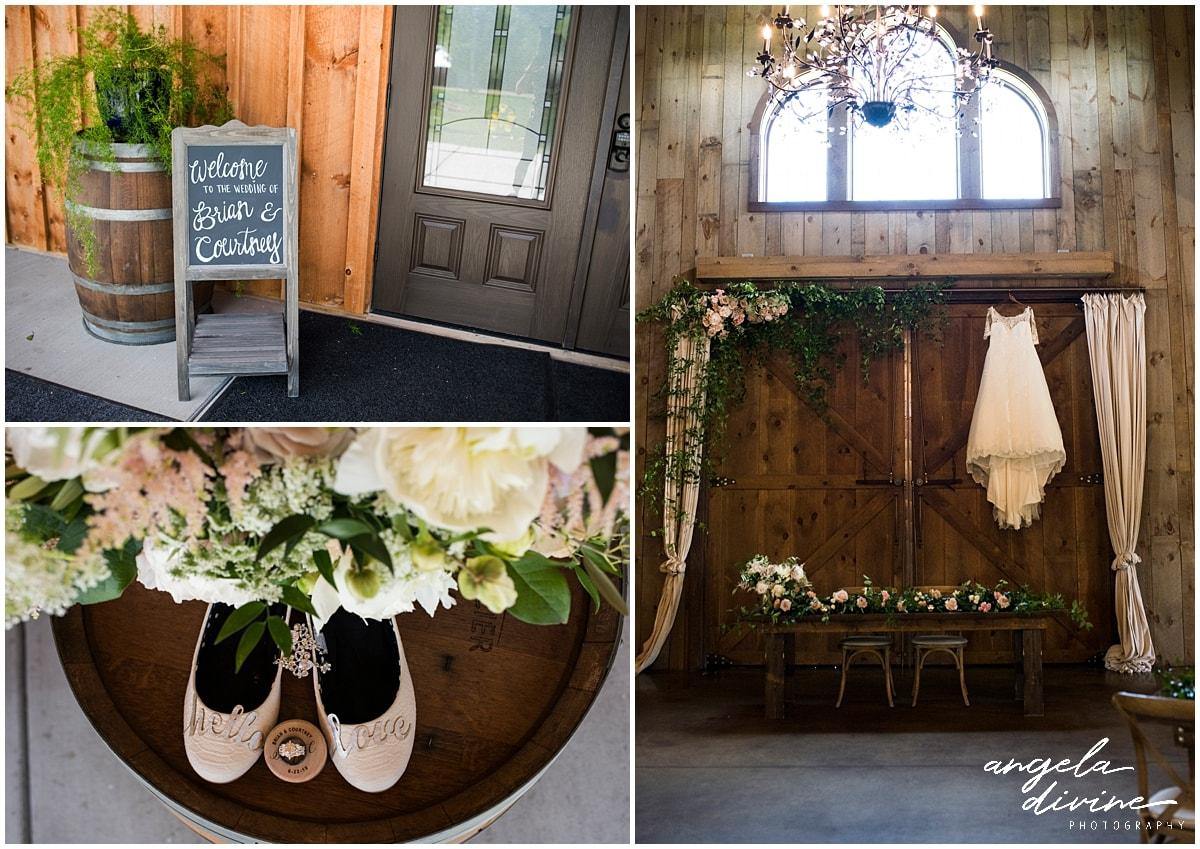 Creekside Farm Wedding décor