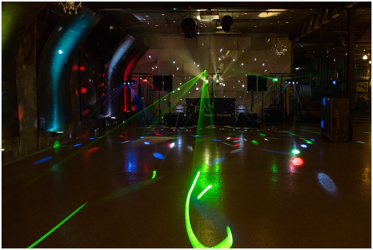 Minneapolis brand makeover dance floor lights