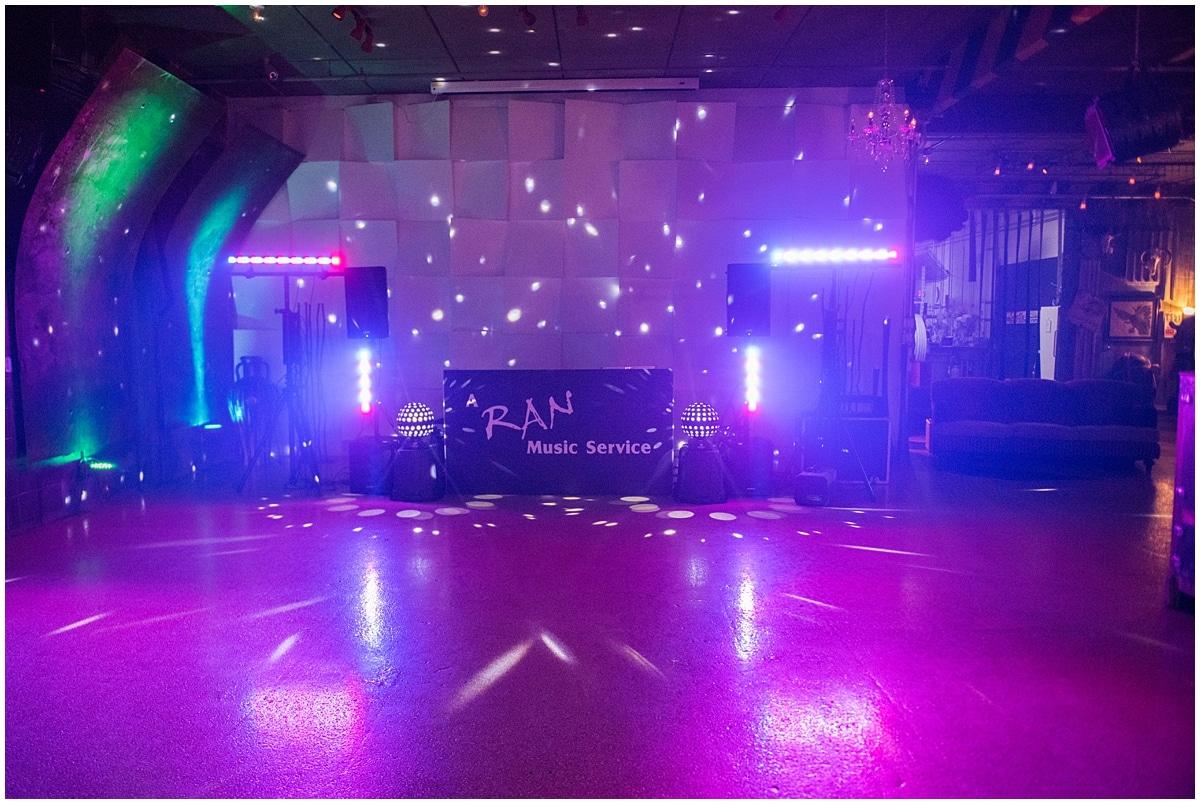 Minneapolis brand makeover dance floor lights in the dark