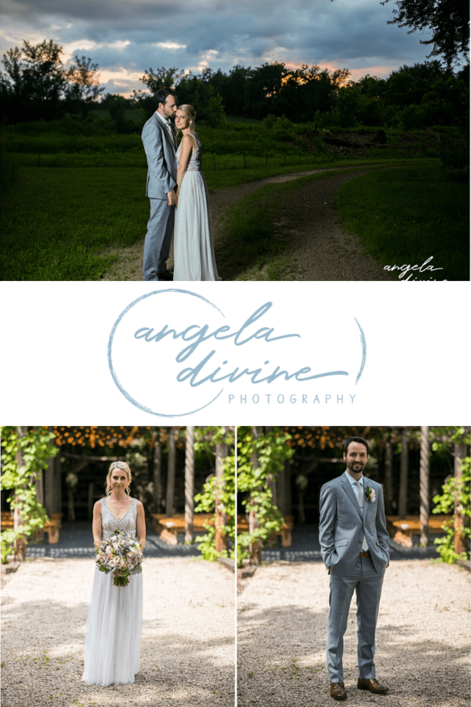 These photos are from a summer wedding and reception at the Gardens of Castle Rock in Northfield, MN. Visit my blog for my favorite photos from their laid back, one-of-a-kind wedding. | Angela Divine Photography | Minneapolis wedding + brand photographer | #wedding #summerwedding #gardensofcastlerock | https://angeladivinephotography.com/gardens-of-castle-rock-wedding/