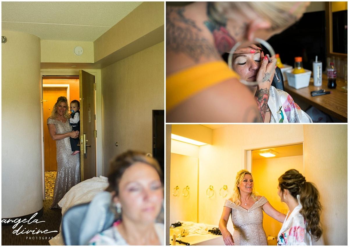 Cindyrella's Wedding Garden hair and makeup