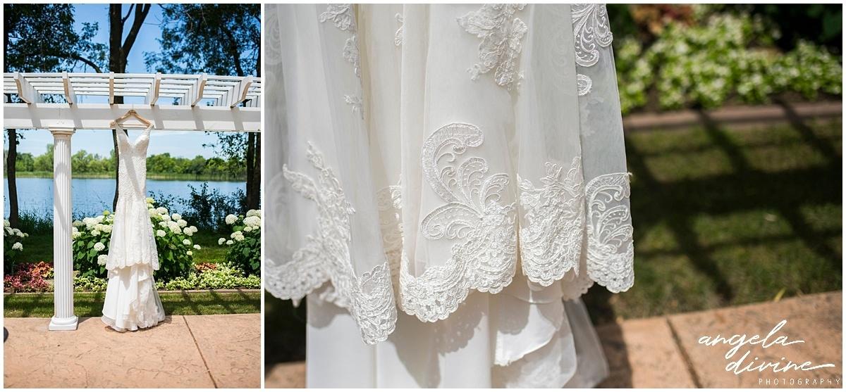 Cindyrella's Wedding Garden wedding dress detail