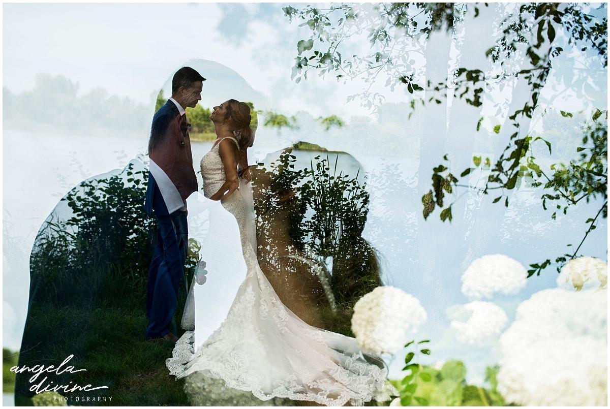 Cindyrella's Wedding Garden bride and groom
