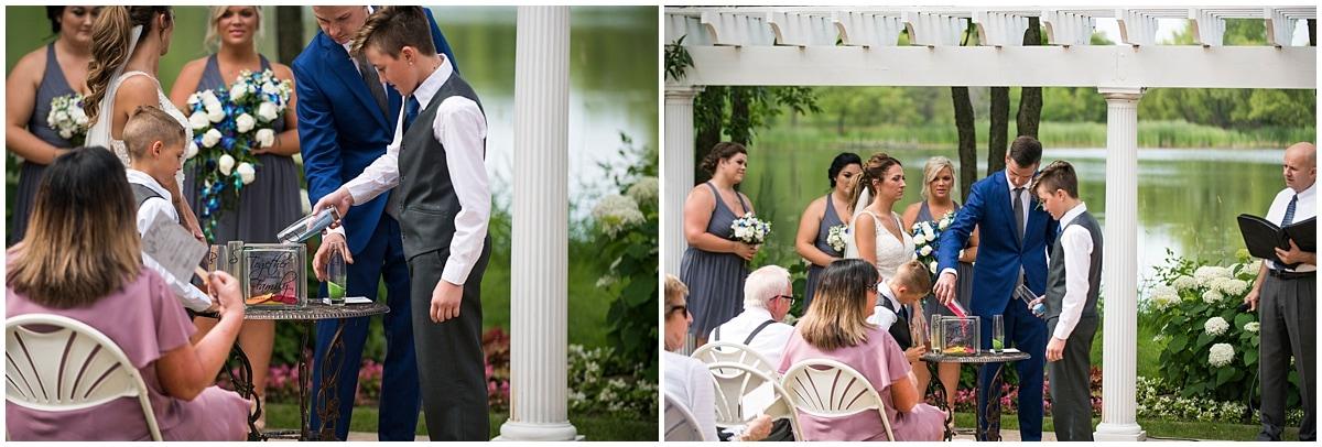 Cindyrella's Wedding Garden celebrating new family