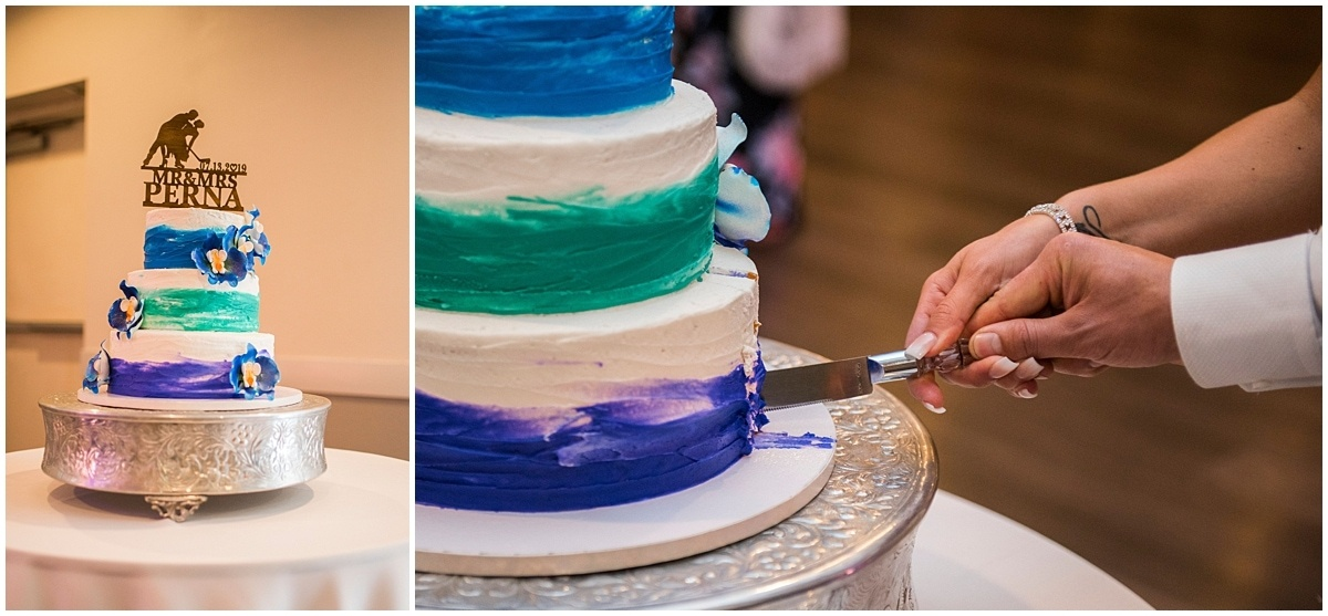 Cindyrella's Wedding Garden wedding cake