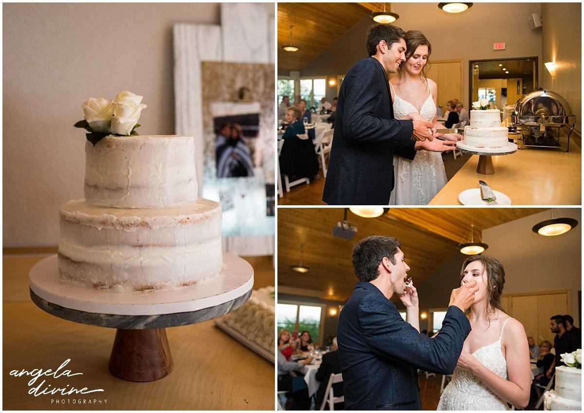 Bluefin Bay Wedding cake