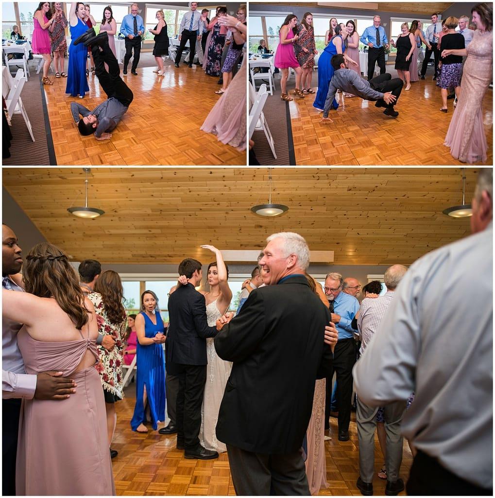 Bluefin Bay Wedding dancing