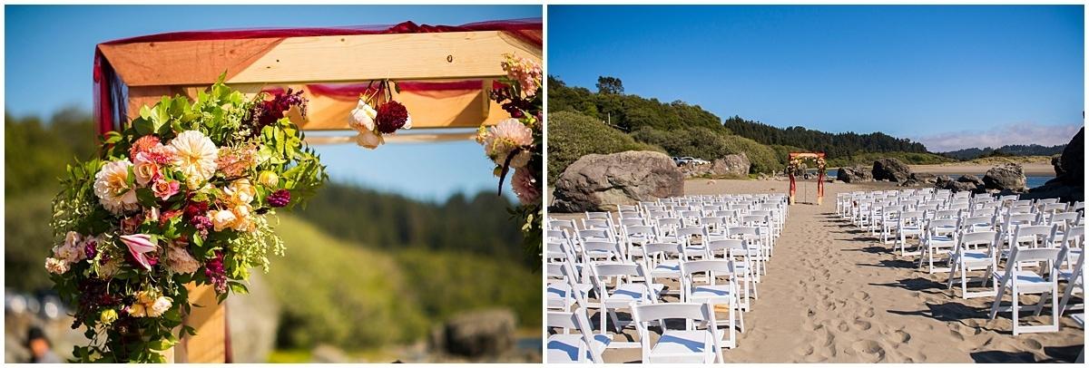 Merryman's Beach House Wedding Moonstone Beach