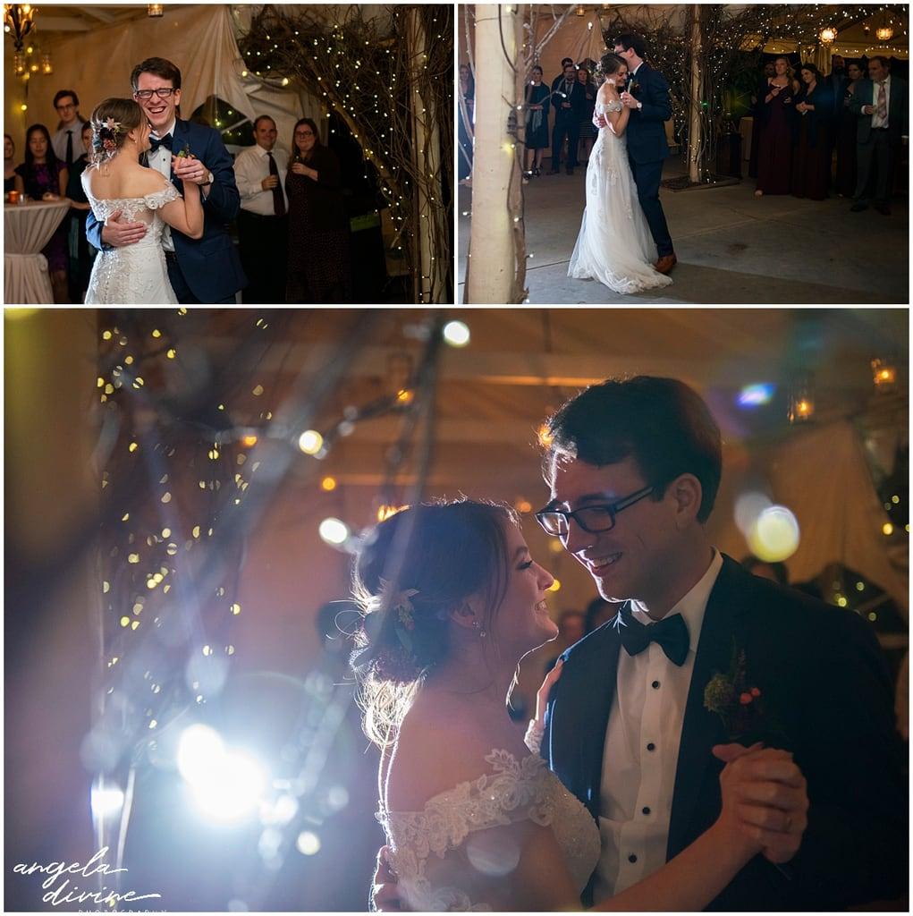 Camrose Hill Wedding first dance