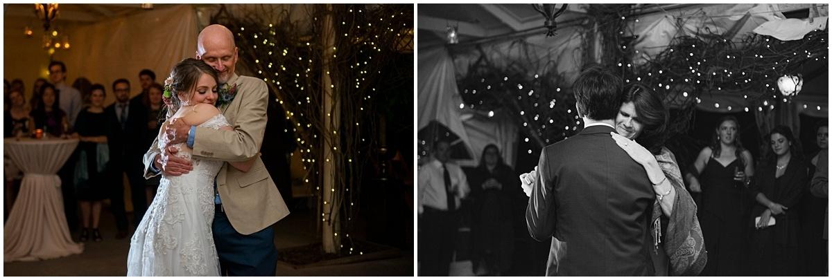 Camrose Hill Wedding parent dances