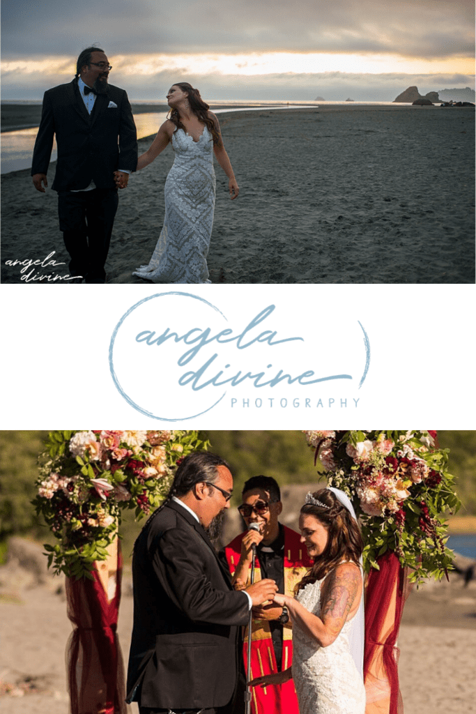 These photos are from a summer wedding at Merryman's Beach House on Moonstone Beach, California. Chela and Waldo were friends for a long time and took it to the next level when the timing was finally right. Check out my favorite photos and stories from their wedding on my blog. | Angela Divine Photography | Minneapolis wedding + brand photographer | #wedding #summerwedding #merrymansbeachhouse #moonstonebeach #weddingphotographer | https://angeladivinephotography.com/merrymans-beach-house-wedding-moonstone-beach-california-chela-waldo/