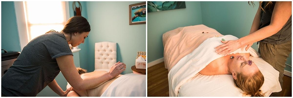 St. Paul Brand Photographer massage