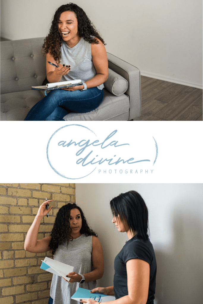 Here are some pictures from a personal brand photography session I did for the Shine Method, which offers a personalized approach to wellness through health, nutrition, and fitness. My favorite images from her session are on the blog. | Angela Divine Photography | Minneapolis wedding + brand photographer | #branding #personalbrand  #minnesota #brandphotography | https://angeladivinephotography.com/minneapolis-brand-photoshoot