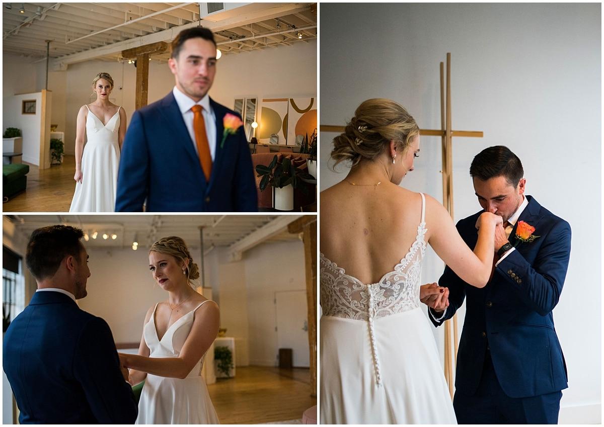 Neu Neu Wedding first look