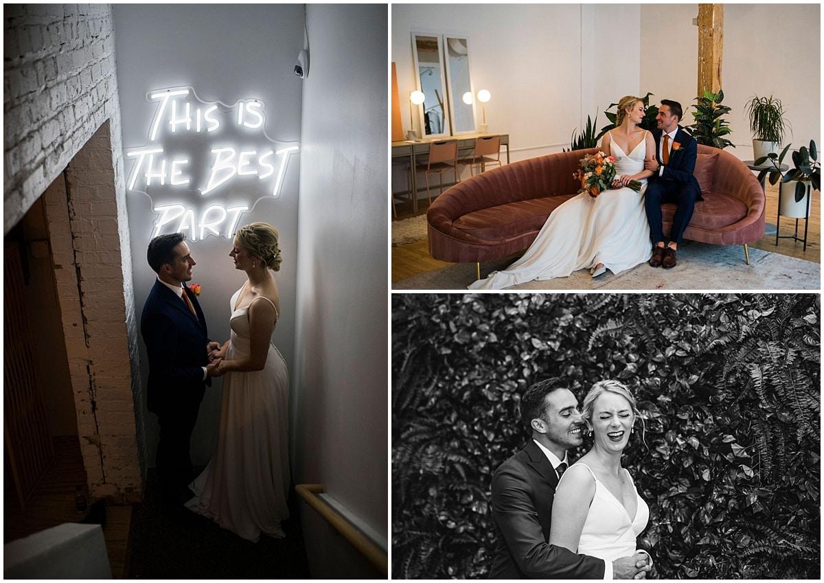 Neu Neu Wedding bride and groom