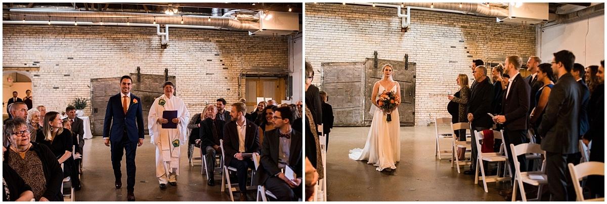 Neu Neu Wedding ceremony entrance