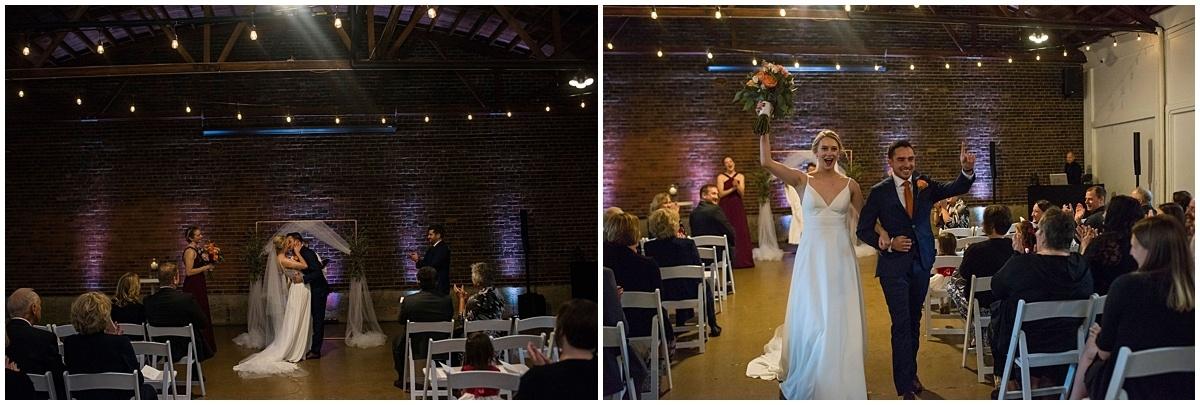 Neu Neu Wedding bride and groom exit ceremony