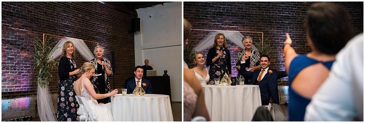 Neu Neu Wedding toasts