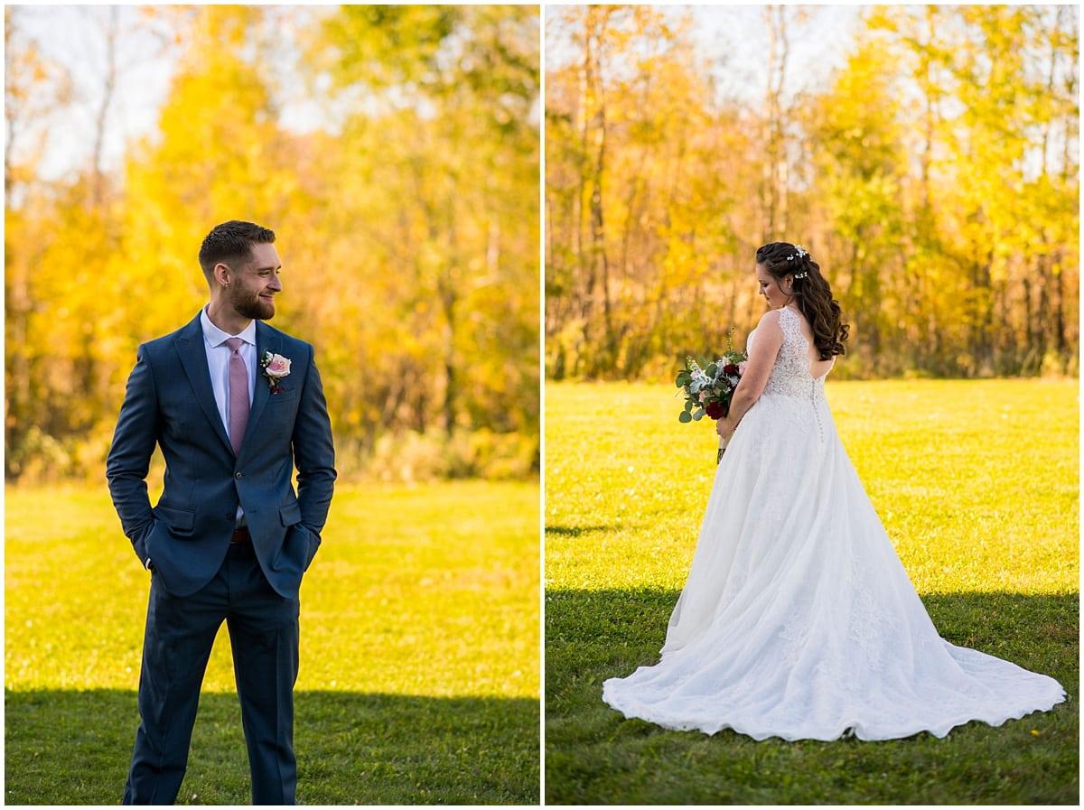 Rogers Minnesota Wedding Photography bride and groom portrait