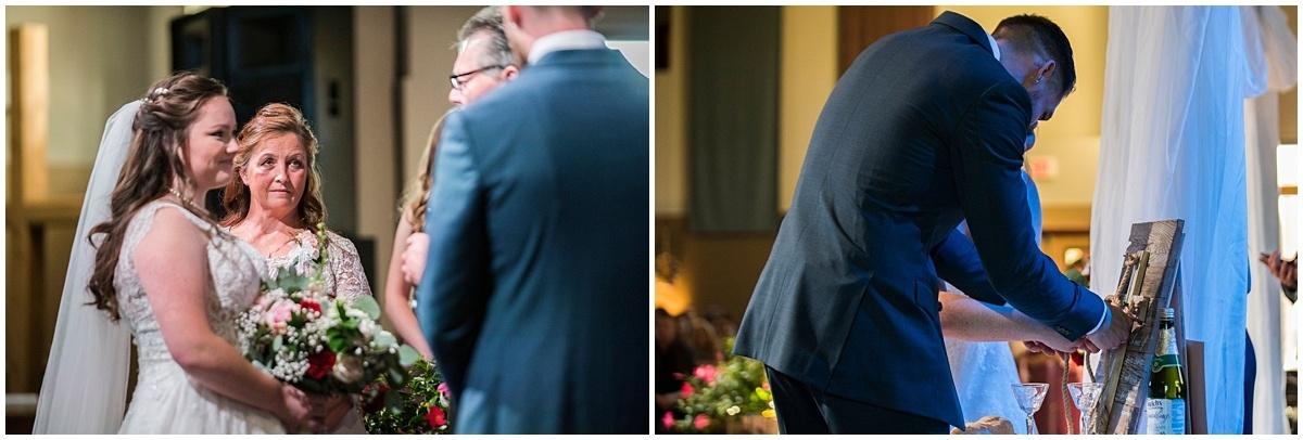 Rogers Minnesota Wedding Photography exchange of vows