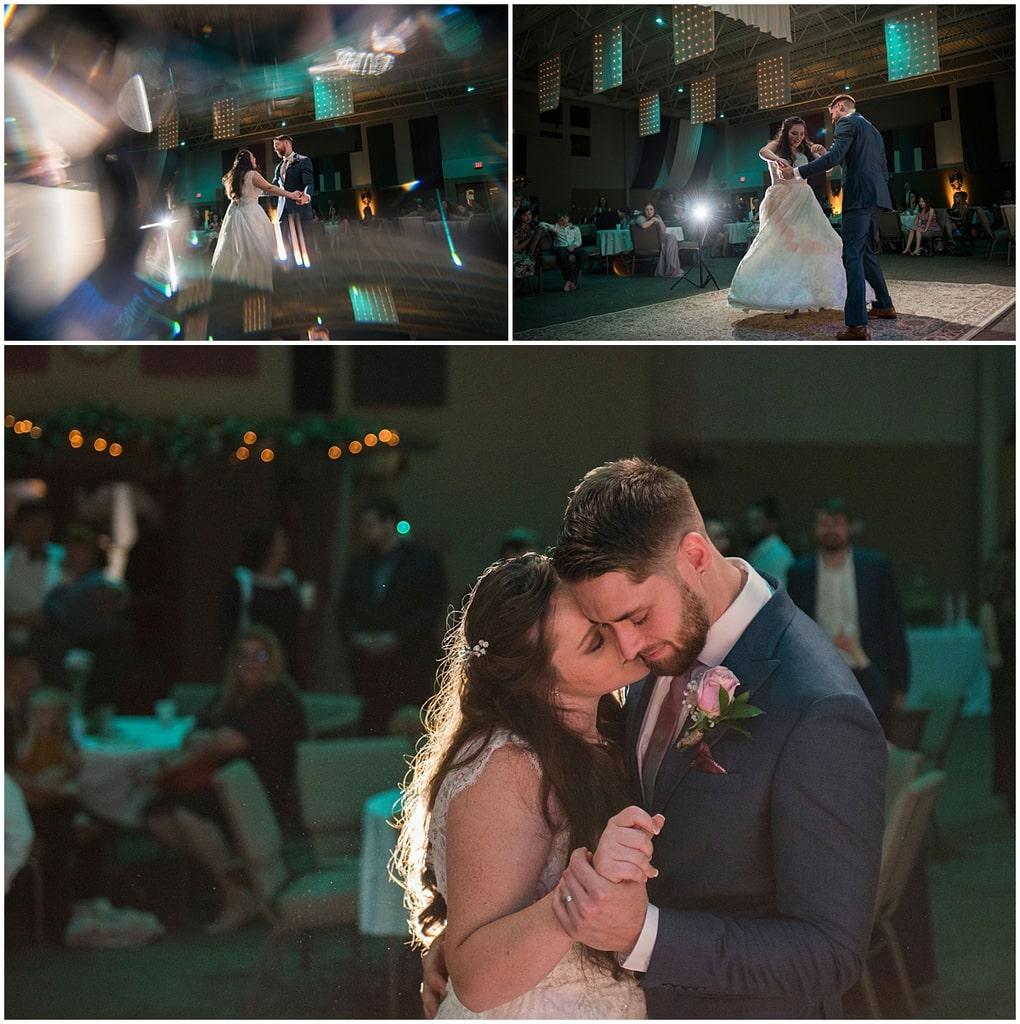 Rogers Minnesota Wedding Photography first dance