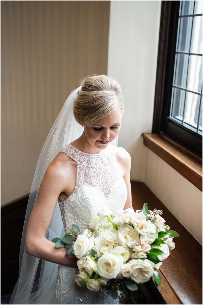 Woman's Club Minneapolis Wedding bridal portrait