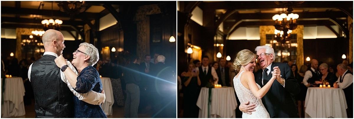 Woman's Club Minneapolis Wedding parent dances