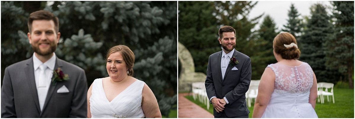 Glenhaven Events Wedding Photography bride and groom first look