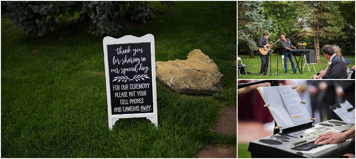 Glenhaven Events Wedding Photography ceremony musicians