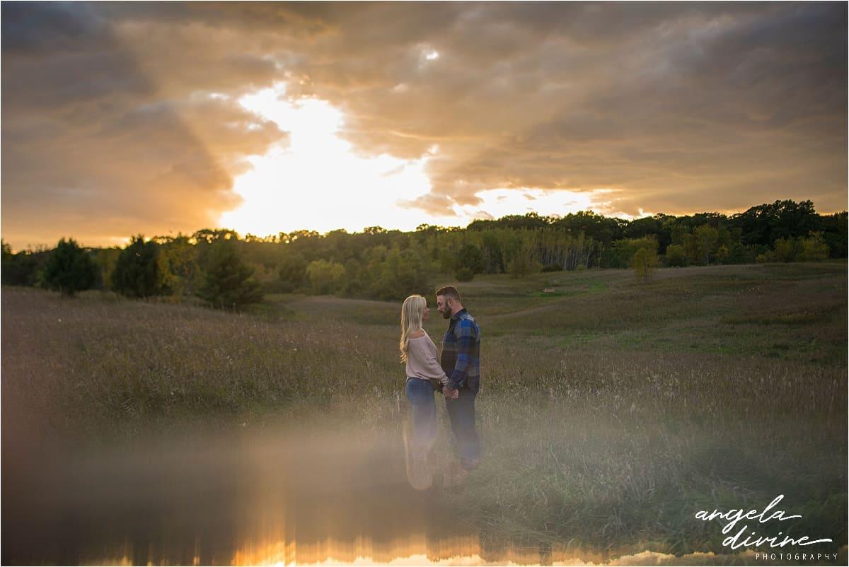 Ritter Farm Park Photography sunset engagement