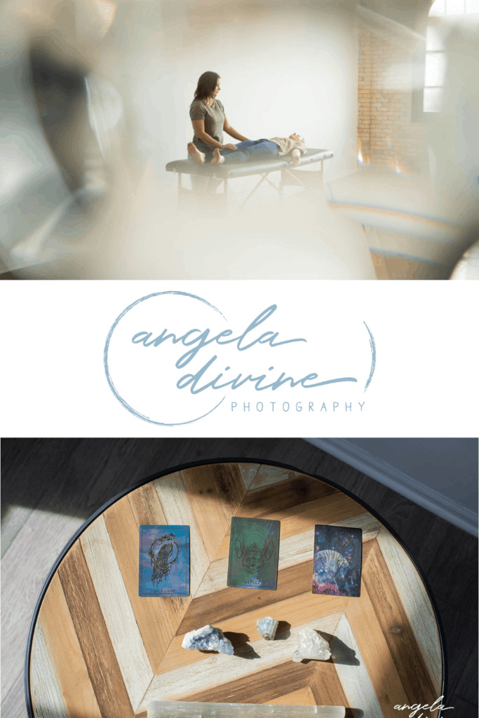These pictures are from a personal branding photography session for Reiki Master Dani Heals. The photos show what it's like to work with her, as well as the rituals and routines she practices. Head to the blog to see more.   Angela Divine Photography   Minneapolis wedding + brand photographer   #personalbrand #minnesota #brandphotography   https://angeladivinephotography.com/minneapolis-personal-branding-photography-for-reiki-master-dani-heals