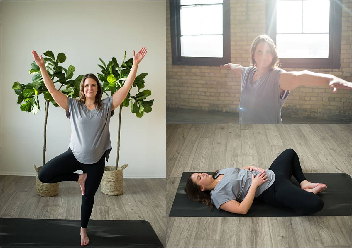 Minneapolis personal branding photography for Reiki Master yoga